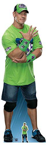 Star Cutouts Ltd SC1241 John Cena Live Fast, Fight Hard, No Regrets!, Karton, Mehrfarbig, 185 x 60 x 185 cm