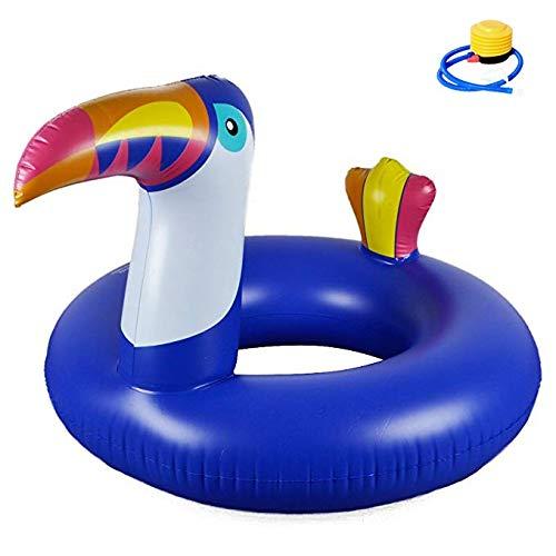 SXC Gigante Gonfiabile Spiaggia Piscina Galleggiante - Enormi Tucano Giocattoli,Nuoto Giocattolo Estate Gonfiabile,per Bambini e Adulti per Festa