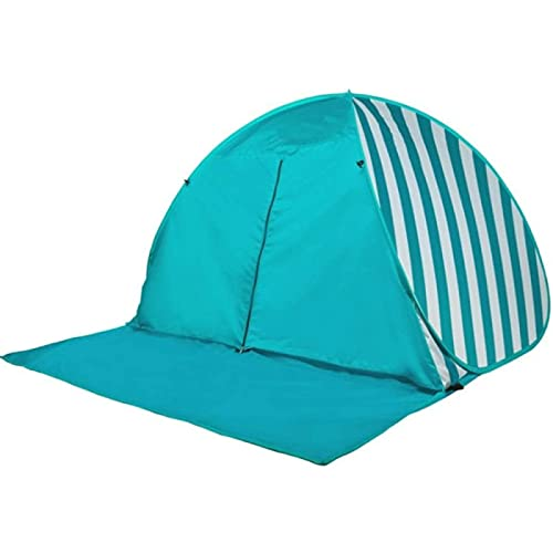 Tienda de Campaña, 3-4 Personas Protección UV Parasol Grande Protección Solar Portátil Cobertizo Tienda de Campaña Cuesta Abajo Automática Bolsa de Transporte con Cremallera para Mochilero Pesca