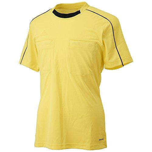 adidas Erwachsene Trikot Referee 16 Jersey Schiedsrichtertrikot, Shock Yellow/Black, XL