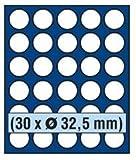 SAFE 6332 TABLEAUS NOVA exquisite 30 x 32,5 mm RUNDE FÄCHER - IDEAL FÜR 10 EURO / 10 DM / 10 MARK DDR & MÜNZEN BIS 32,5 mm - PASST FÜR NOVA - NOVA EXQUISITE...