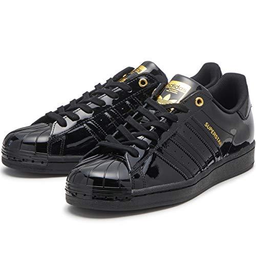 adidas Superstar Metal Toe W Damen, Farbe:CBLACK/CBLACK/Goldmt, Größe:Euro: 38 2/3 | US: 7 | cm: 24,5 cm | UK: 5,5
