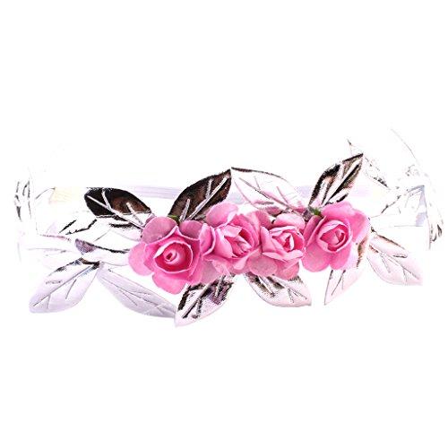#N/A/a Diadema de Flores, Accesorios para El Cabello para Niñas, Diadema, Fotografía, Decoración - Plata