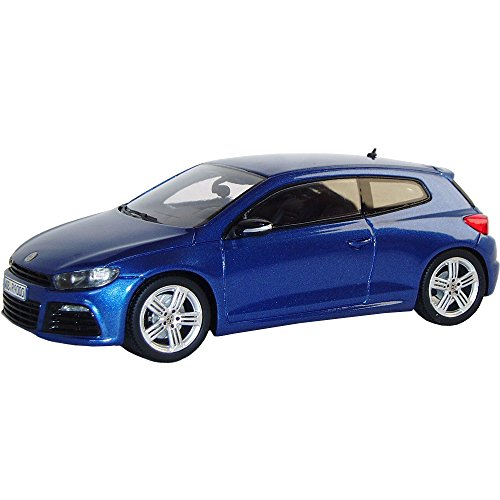 Volkswagen 1K8099300RR5Z Modellauto Scirocco R 1:43, Rising Blue Metallic