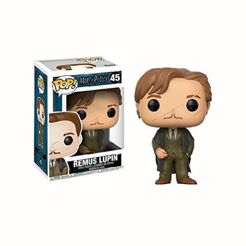 YYBB ¡Popular!Película Harry Potter y el Prisionero de Azkaban Figura de acción de Remus Lupin Colección Figuras Anime Regalos Juguetes 3,75 Pulgadas Figurines