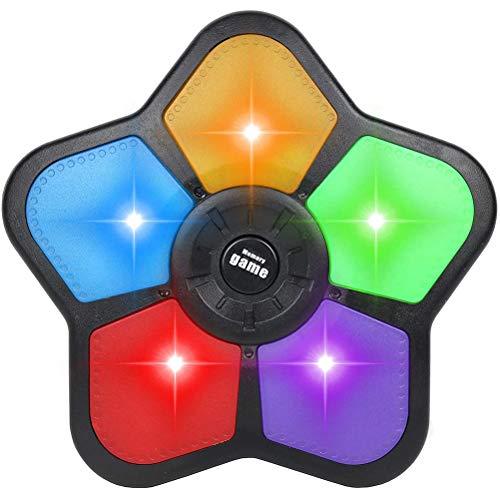 Yissma Juego de Memoria electrónica para niños Juego de Mano con Luces y Sonidos Juego clásico de Simon