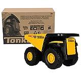 Tonka - Steel Classics Toughest Mighty Dump Truck, Frustration-Free Packaging (FFP)