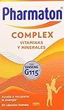 Pharmaton Complex, multivitamínico con Ginseng G115, Ayuda a recuperar la energía, 30 cápsulas blandas
