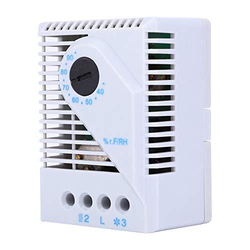 Changor Excelente Controlador de Humedad, 250 VCA, 5 Un plástico Hecho conversión Contacto 20VAC para gabinete de TV Ajustador de Humedad