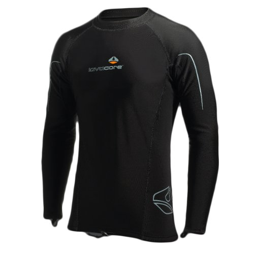Lavacore Men's Long-Sleeve Hooded Shirt Large - for Scuba and Water Sports