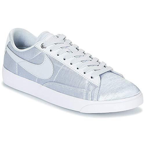 Nike Womens Blazer Low SE W Silbern Sneaker Low 40