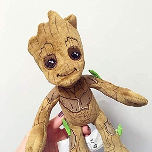 Dlcvko Peluche Galaxy Guardian Groot Peluche Tree Man Doll Bambola Muppet 22cm, Regalo Festa di Compleanno e Regalo di Festa