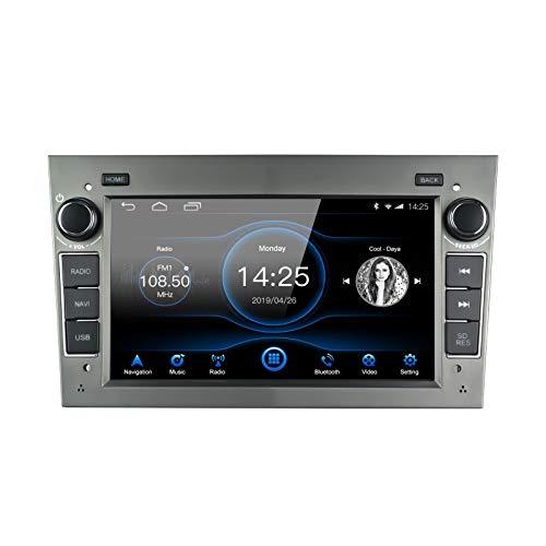 EZoneTronics Android 8.1 Autoradio Stereo AM FM RDS adatto per Opel Vauxhall Corsa Astra 2GB RAM 16G ROM Octa Core Indash 7 Schermo Touch Control GPS BT/USD/SD Unità principale con SWC WiFi