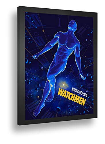 Quadro Decorativo Poster Watchmen Nothing Ever Ends