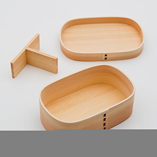 曲げわっぱ大和型弁当箱SAKURA白木