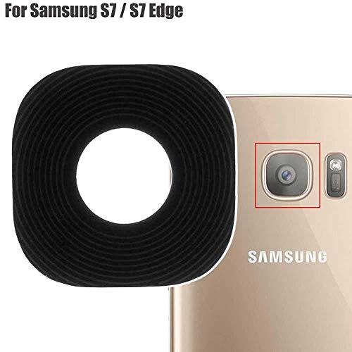 OcioDual Lente de Cristal para Camara Trasera Compatible con Samsung Galaxy S7 / S7 Edge SM-G930F G935F