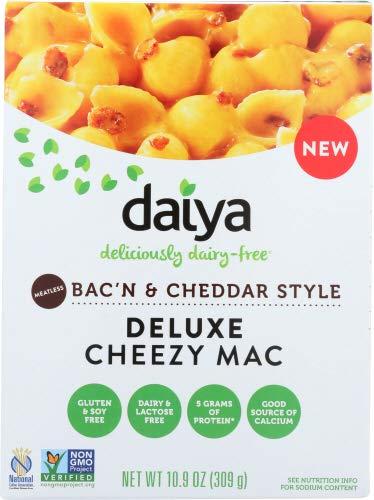 Daiya Vegan Mac & Cheese Meatless Bacon Cheddar 10.9 OZ (Pack of 2)