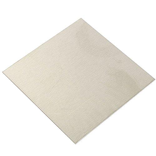 EsportsMJJ High Purity Nickel-Platten-Nickel Folie Dünnes Blech 1 mm X 100 mm X 100 mm