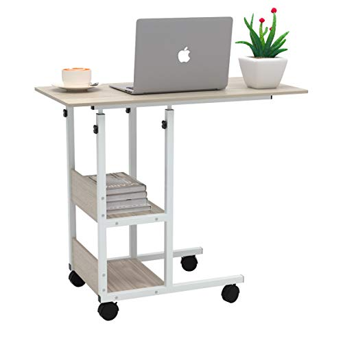 Jacent Home Rolling Adjustable Laptop Workstation Table - $63.99 Shipped
