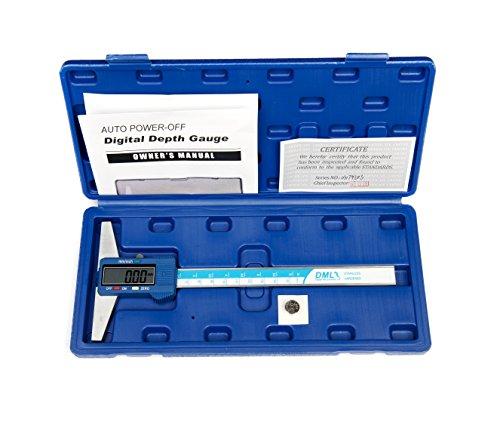 DML digitaler Tiefenmesser, 150 mm, Edelstahl