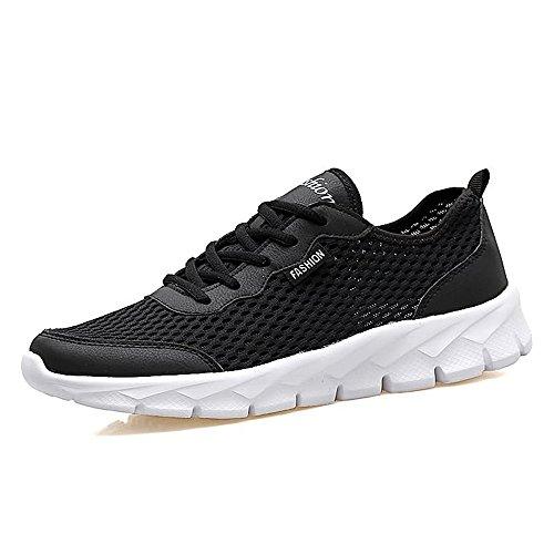 GERUIQI Classic Heren en Dames Atletische Sneakers Casual Air Ventilatie en Geurcontrole met Een Dunne Holle Mesh Lichtgewicht Loopschoenen Comfortabel Ontworpen voor Mannen