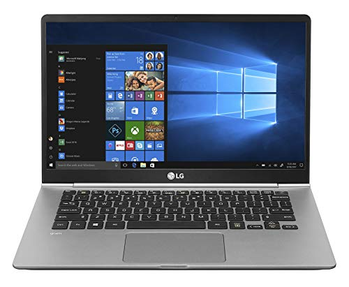 "LG Gram Laptop 14Z990 Notebook, Display 14"" Full HD IPS, Processore Intel i5-8265U, RAM 8 GB DDR4, SSD 256 GB, Grafica Intel UHD 620, HD Audio con DTS Headphone-X, Windows 10 Home (64bit), Argento"