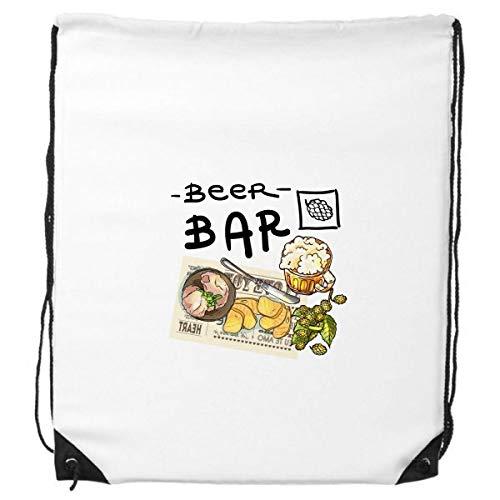DIYthinker Steak Bar Frankreich Toast Bier-Rucksack Einkauf Geschenk Sporttaschen