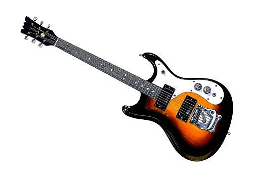 George Morgan Illustration Kurt Cobain Mosrite Gospel MkIV Gitarre Poster Print A1 Größe
