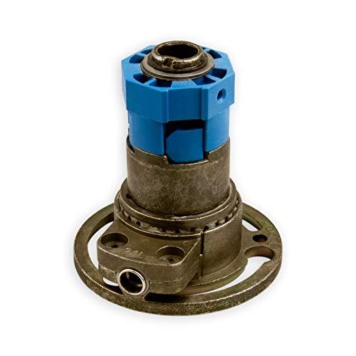 DIWARO® K019 Rolladengetriebe 3:1 Links | Antrieb 6mm Innenvierkant | Kurbelgetriebe, Kegelradgetriebe für SW 40 achtkant Stahlwelle im Rolladenkasten
