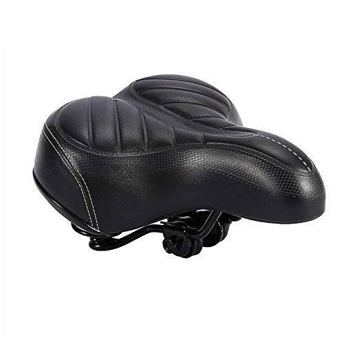 LXDDP Selle vélo, Coussin rembourré en Mousse à mémoire siège vélo pour Hommes, Femmes, Siège Selle Souple et Extra-Sportif, adapté à Tout Type vélo
