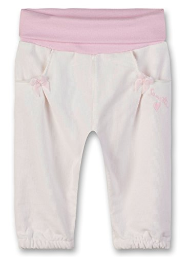 Sanetta Baby-Mädchen Pants Lined Hose, Beige (Ivory 1829.0), 68