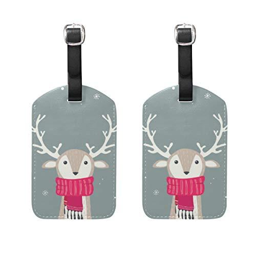 Chic Houses Elk Milu 2031557 - Etiquetas de viaje para equipaje