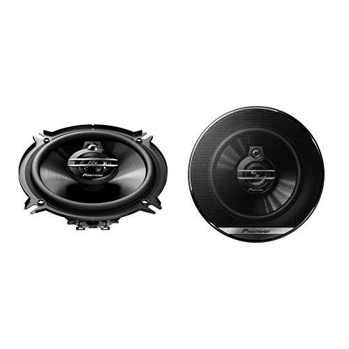 Pioneer TS-G1330F 3-Weg-Koaxiallautsprecher für Autos (250 W), 13 cm, kraftvoller Klang, IMPP-Membran für optimalen Bass, 35 W Eingangsnennleistung, 44 mm Einbautiefe, schwarz, 2 Lautsprecher