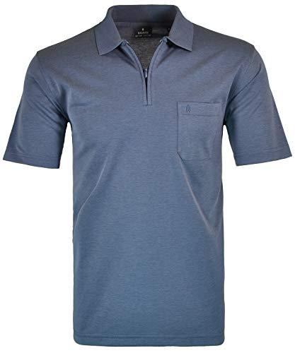 RAGMAN Herren RAGMAN Kurzarm Poloshirt - Azur - XL