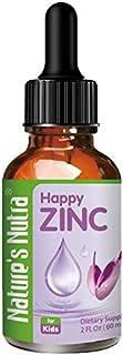 Nature's Nutra Happy Zinc, 2 Fl Oz (60ml), Premium Baby and Infant Liquid Drops, Toddlers Kids Children Multivitamin Suppl...