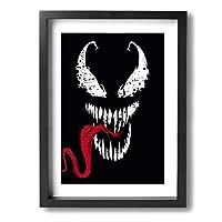 アートパネル フォトフレーム 絵画 壁掛け油彩画 Symbiote Framed Painting 抽象画 壁の絵 壁掛け ソファの背景絵画 壁アート新築飾り 贈り物 30x40cm