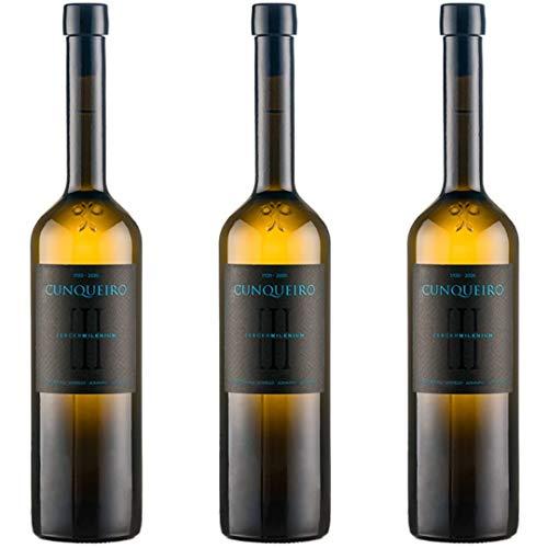 Cunqueiro Vino Blanco - 3 botellas x 750ml - total: 2250 ml