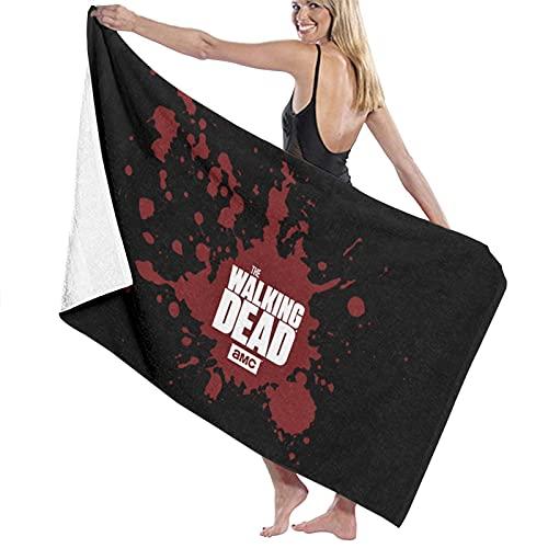 The Walking Dead Toalla de baño Toalla de Microfibra Toalla de Playa para Deportes de Viaje Bath Sheet