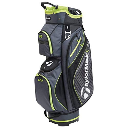 TaylorMade Pro Cart 60 Golf Bag Charcoal One Size