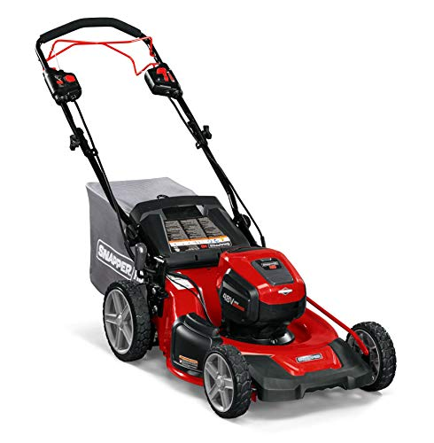 Snapper HD 48V MAX Cordless Electric Self-Propelled 20-Inch Lawn Mower, Battery and Charger Not Included