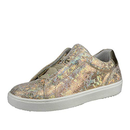 Superfit Damen Heaven Sneaker, Gold (Metallic Gold 97), 37 EU