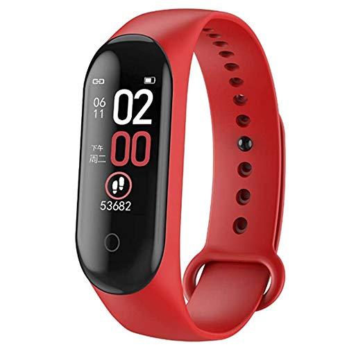 K KLACK PriceQuality Miband Smartband 4 Mi Band Rojo