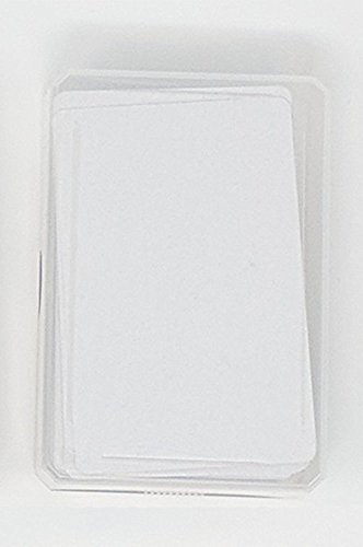 Blank Playing Cards to draw on and create your own game (1 x 60 Cards)