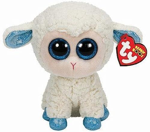 TY Beanie Boo 6  Plush bleu Feet Olga the Sheep by Ty
