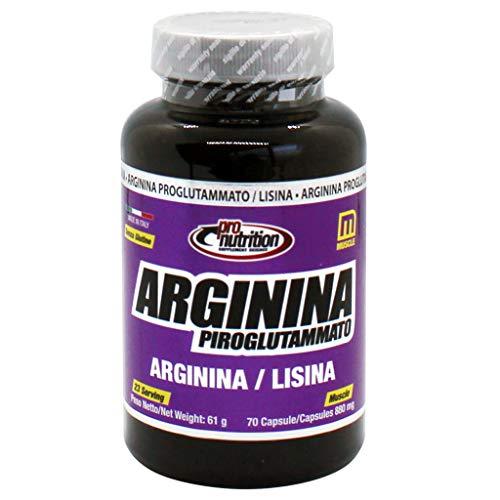 Pro Nutrition Arginina Piroglutammato 70 Cps - 60 Gr