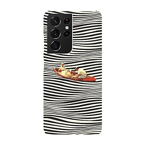artboxONE Premium-Case Handyhülle für Samsung Galaxy S21 Ultra Illusionary Boat Ride von Taudalpoi