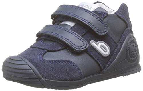 Biomecanics 191165-1, Zapatillas de Estar por casa Unisex niños, Azul (Azul Marino (Sauvage) Paprika), 24 EU