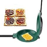 HHTX Padella, Doppio Rivestimento in Ceramica Antiaderente Padella per friggere Padella per frittelle Pentole da Cucina per Uso Domestico