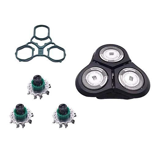 Showzon Cabezales De Afeitadoras Eléctrica para Philips Norelco SensoTouch Cutter Head RQ11 Corte De RQ1150 / RQ1190 / RQ1160 / RQ1195 / RQ1151