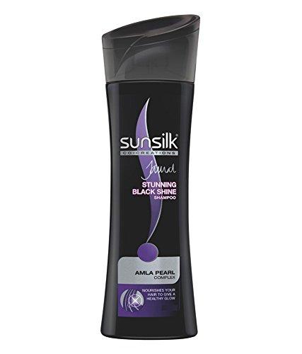 sunsilk Impresionante champú Black Shine 80 ml